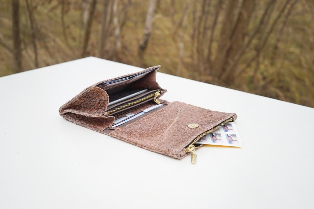 Fischleder Portemonnaie