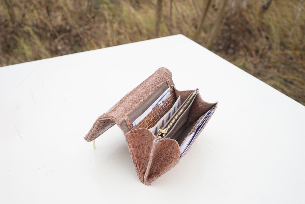 Portemonnaie Fischleder