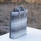 Tasche aus Isländischem Fischleder