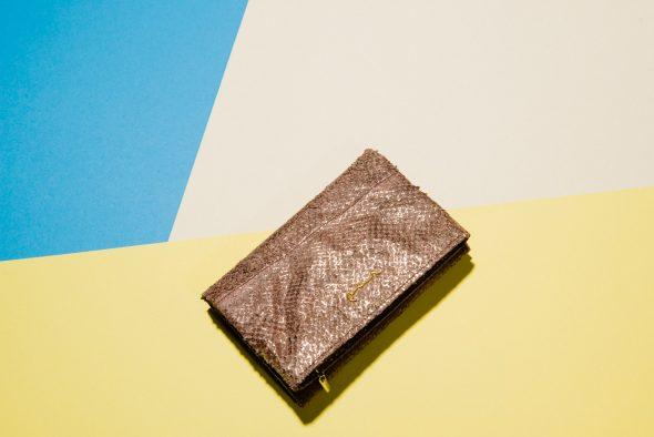 Fischleder Tasche Fischleder Portemonnaie