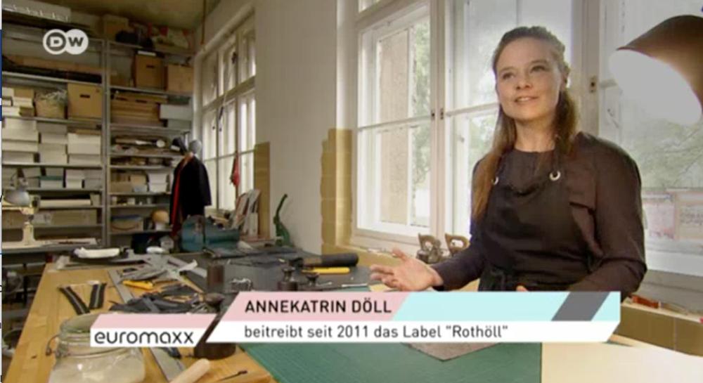 Die Deutsche Welle zu Gast bei Rothöll!