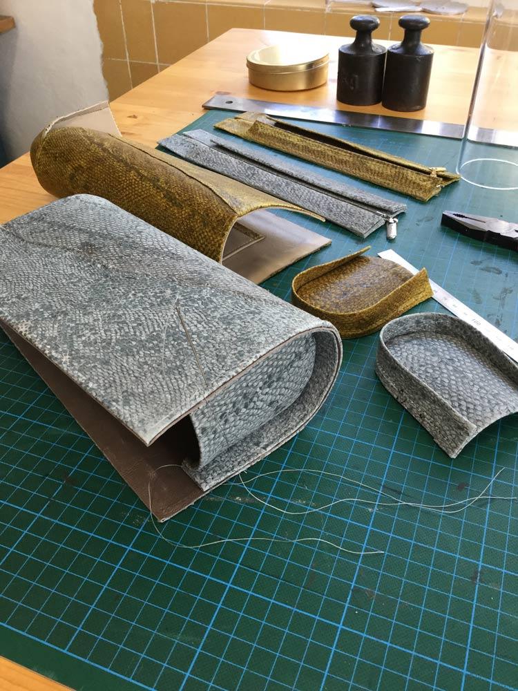 Fischleder Design Handwerk