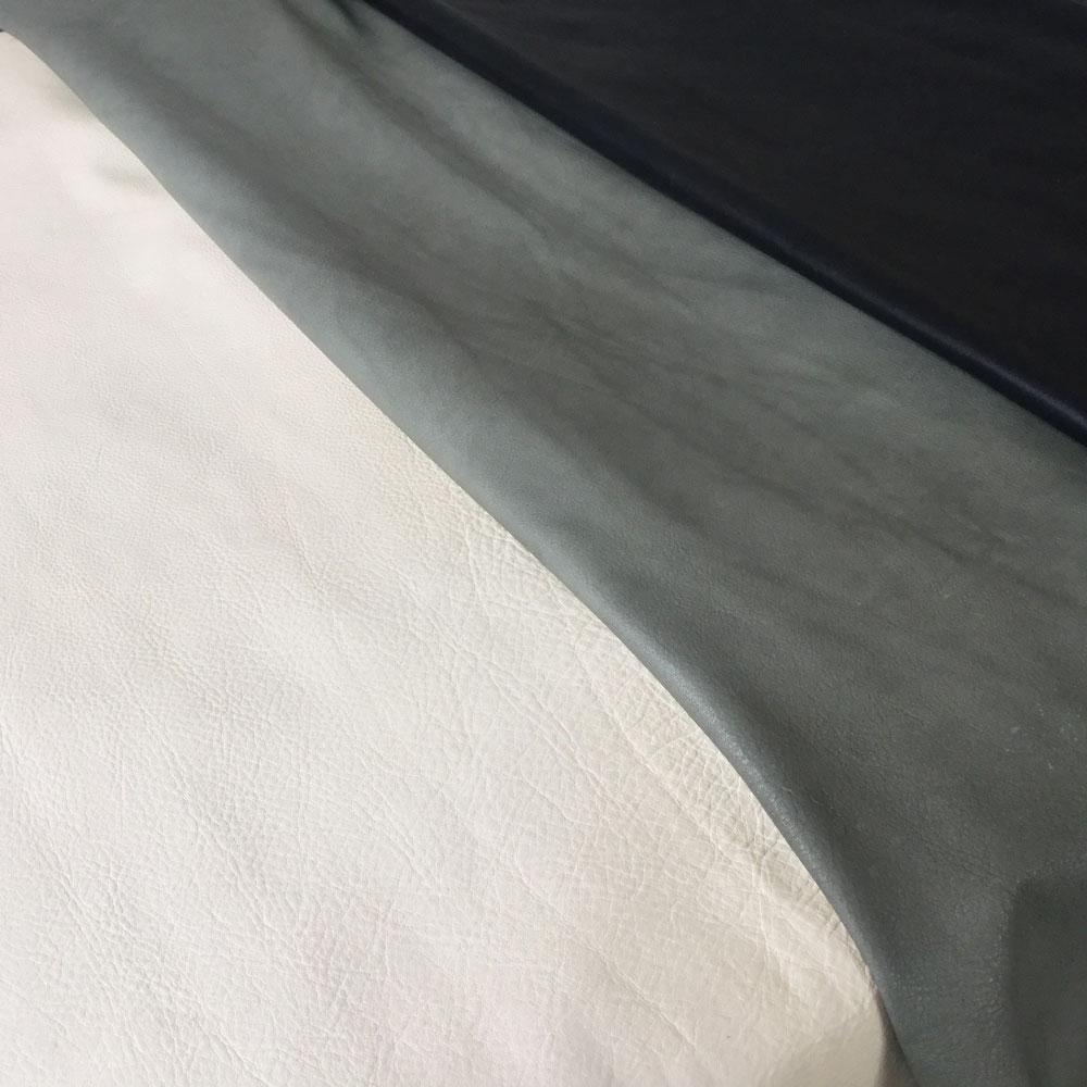Vegetable-tanned cowhide nappa as new lining leather