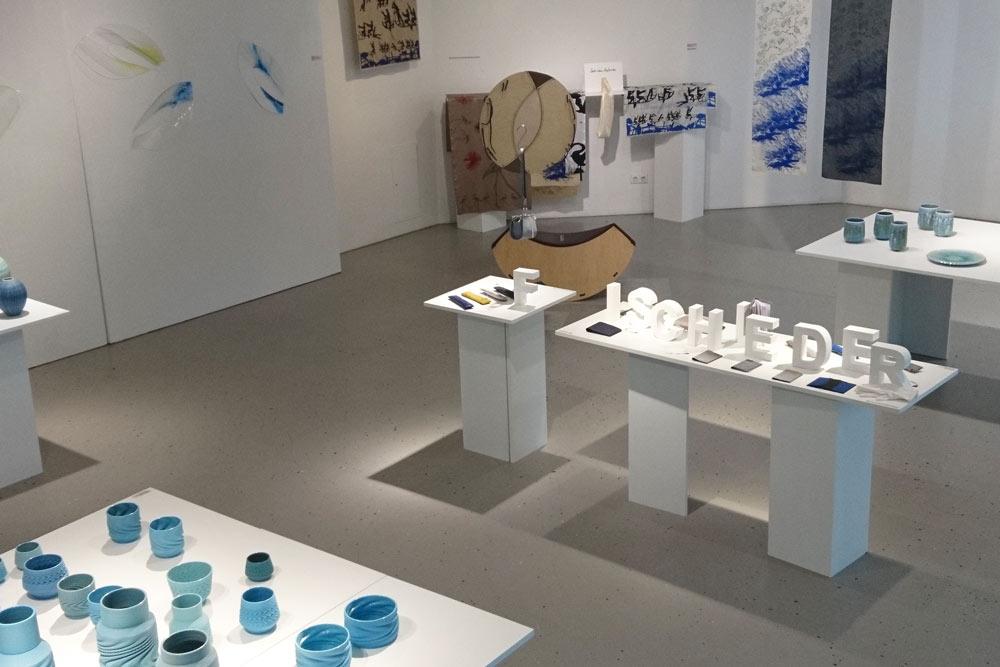 Galerie Labor im Chor Wasser Rothöll Lederwaren