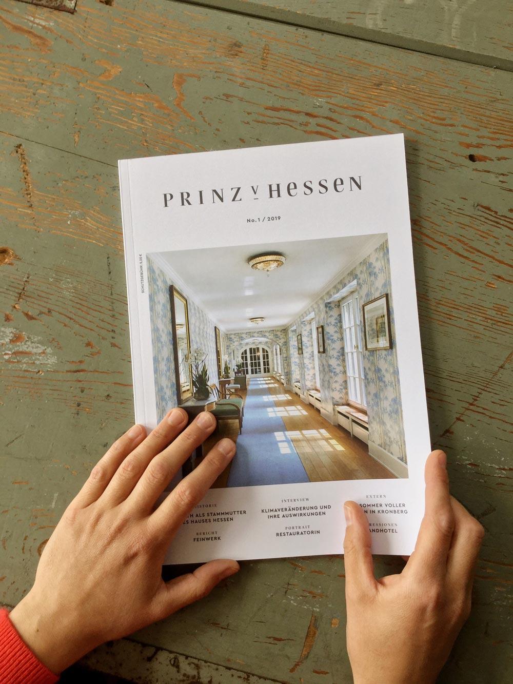 """In the magazine """"Prinz von Hessen"""""""
