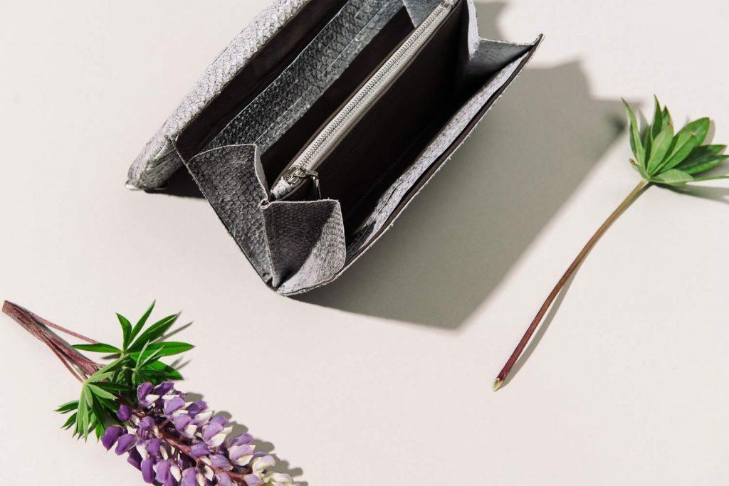Portemonnaie aus Fischleder Rothoell
