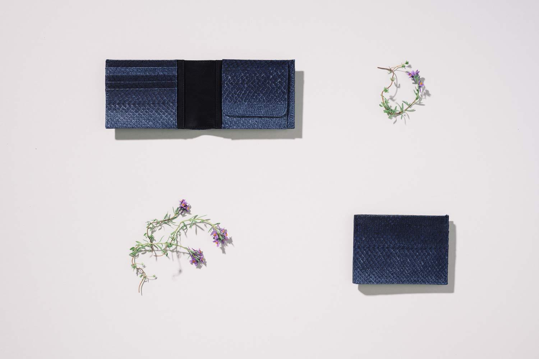 Portemonnaie aus Fischleder