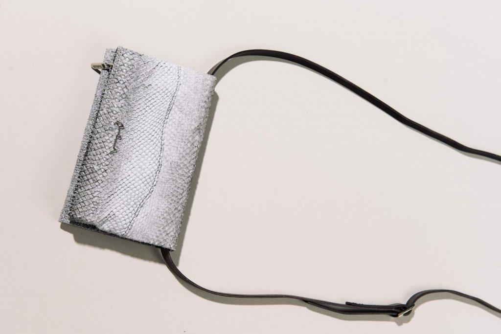 Tasche aus Lachsleder