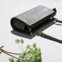 Handtasche aus Lachsleder