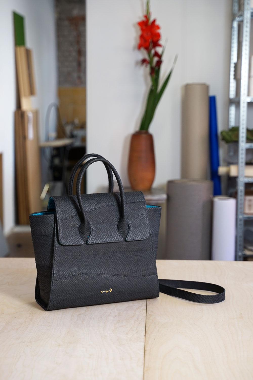 Handtasche aus Fischleder Nachhaltiges Modedesign