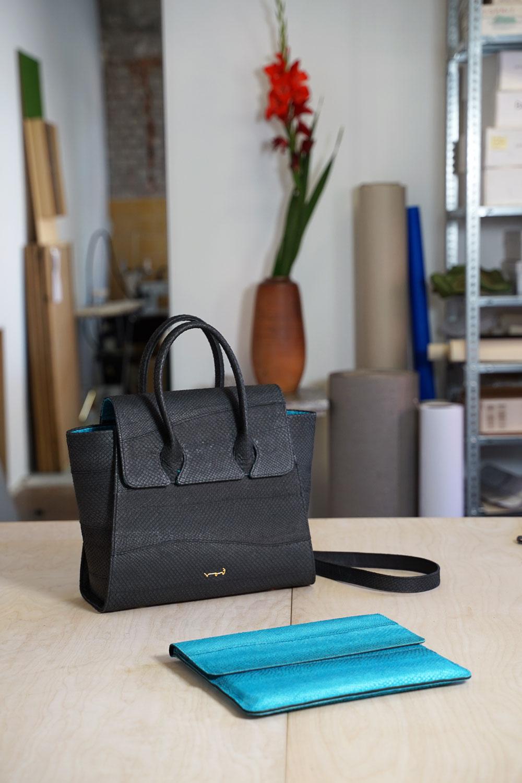 Rothölls Statement Pieces: Handtasche und iPad Case