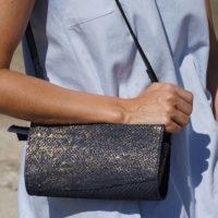 Nachhaltige Mode Tasche aus Fischleder
