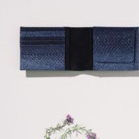 Geldbörse aus Fischleder handwerklich gefertigt