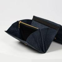 Elegantes Portemonnaie aus isländischem ischleder
