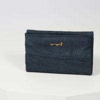Handtasche und Portemonnaie aus Fischleder