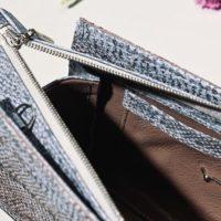 Handtasche aus Fischleder Rothöll