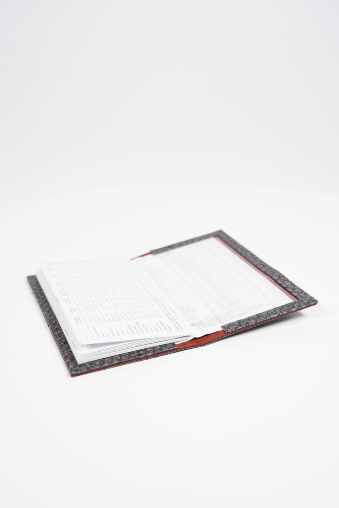 Kalenderumschlag Buchumschlag Rido Kalender