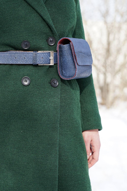 Gürteltasche Nachhaltige Mode von Rothöll