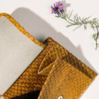 Portemonnaie aus Fischleder Kleinlederwaren Luxus