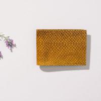 Brieftasche aus Fischleder