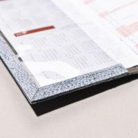 Umschlag für Kalender aus Dorschleder
